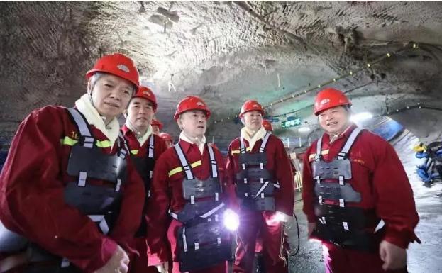 深入井下 現場督導 宋樂偉到張雙樓煤礦檢查安全生產工作