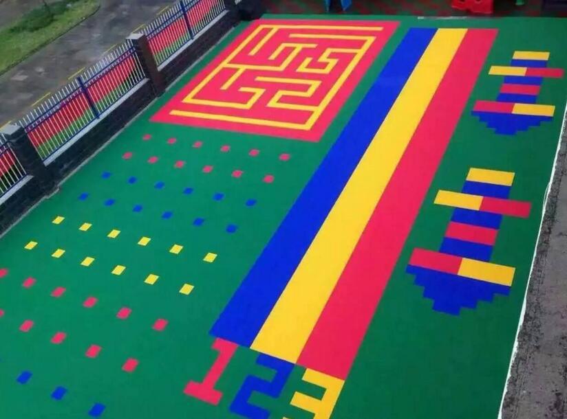 幼儿园操场悬浮地板