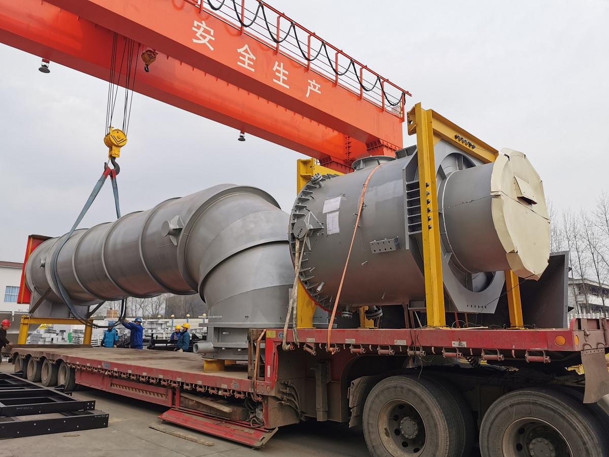 楚基钢构项目运输