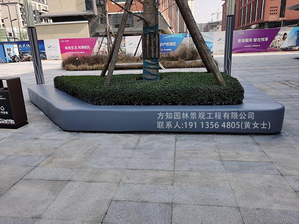 成都温江创智中心玻璃钢坐凳,泰科石坐凳,pc坐凳