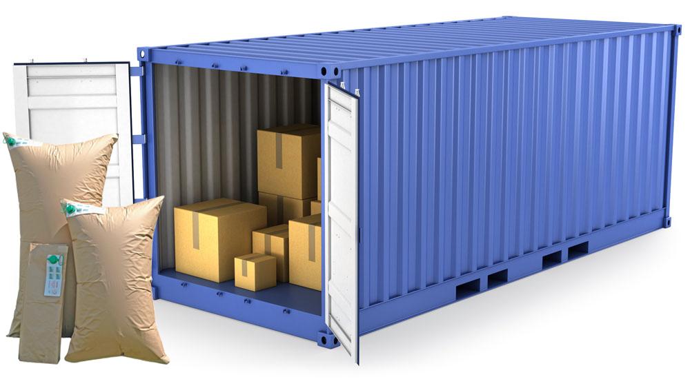 仓储运输小助手之-集装箱充气袋
