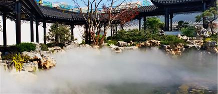 景区水池内如何打造云雾效果:雾森系统,让景区更为迷人
