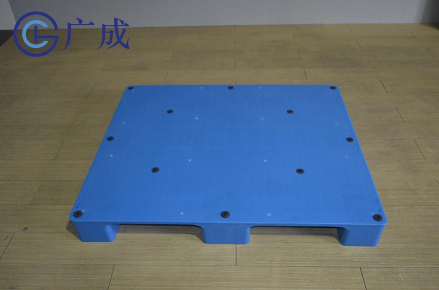 1210平板九腳塑料托盤面部