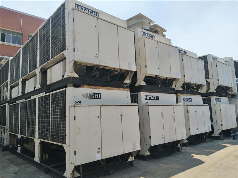 日立风冷热泵,制冷量50万大卡