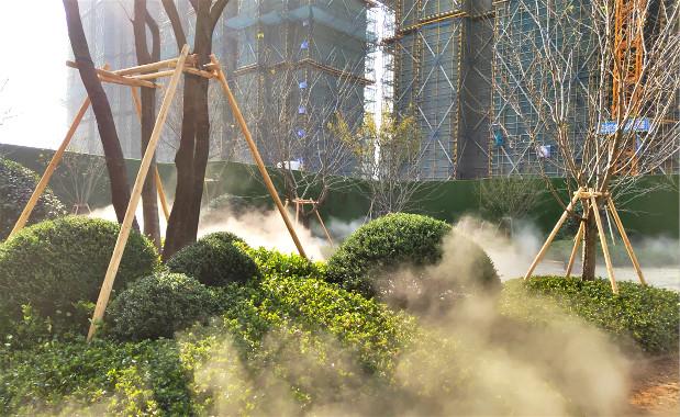 温州售楼处小区绿化景观贝斯特全球最奢华网页雾案例