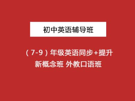 初中英语辅导(7-9)