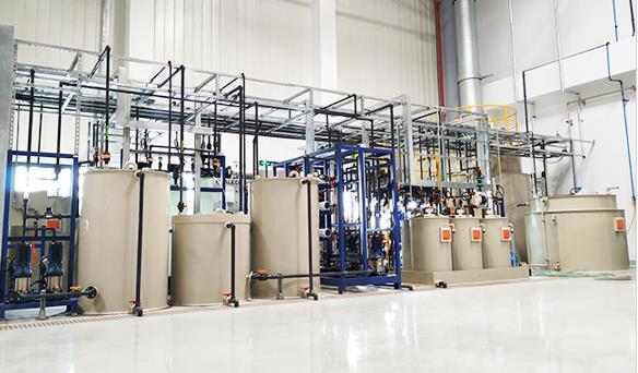 吉利汽车零部件废水零排放系统工程