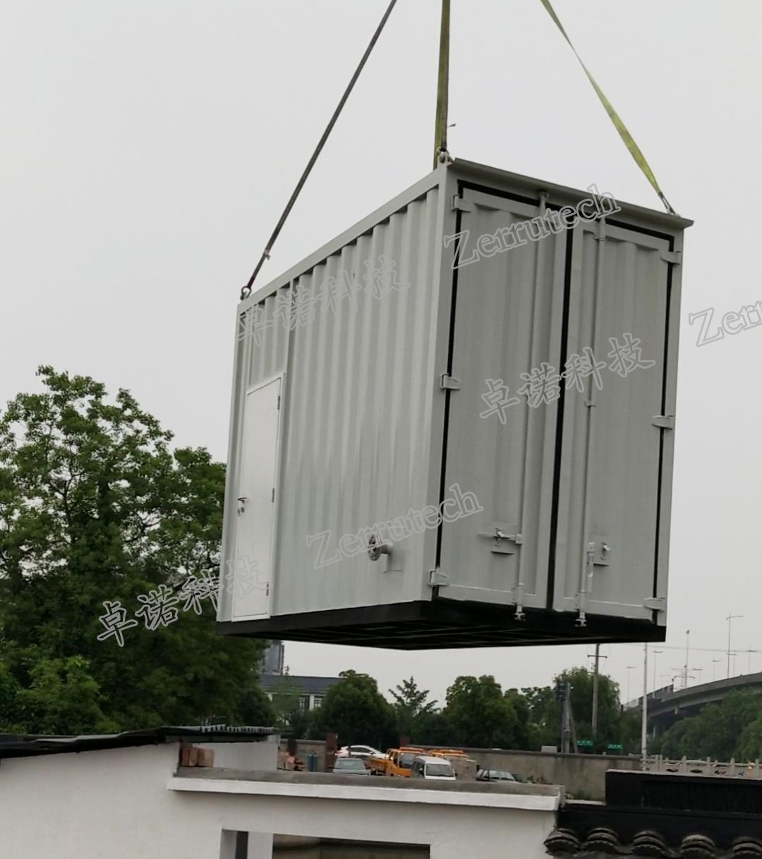 集装箱式全自动一体化过滤系统