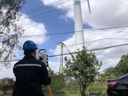 風機塔筒、通訊鐵塔、電力線鐵塔、煙囪等建筑物垂直度檢測