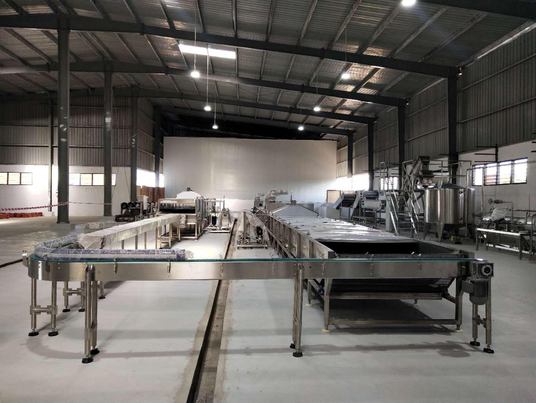 阿尔及利亚浓缩蕃茄及辣椒酱加工生产线-300吨/天
