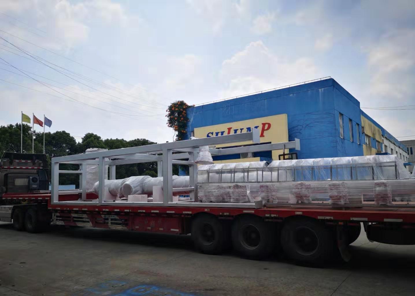感谢孟加拉客户的信任,第二批设备已装车发货