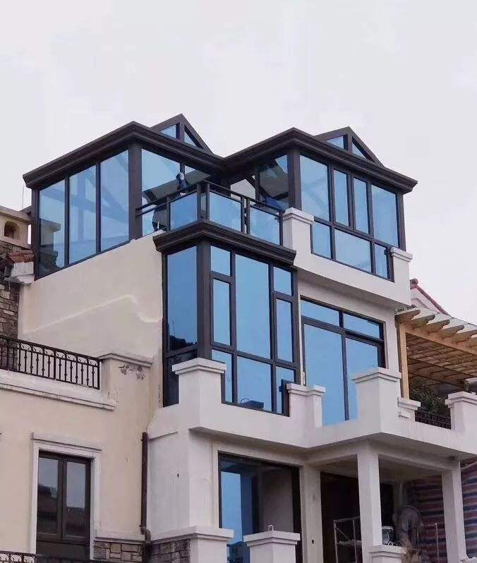 钢化夹胶安全玻璃屋顶工程