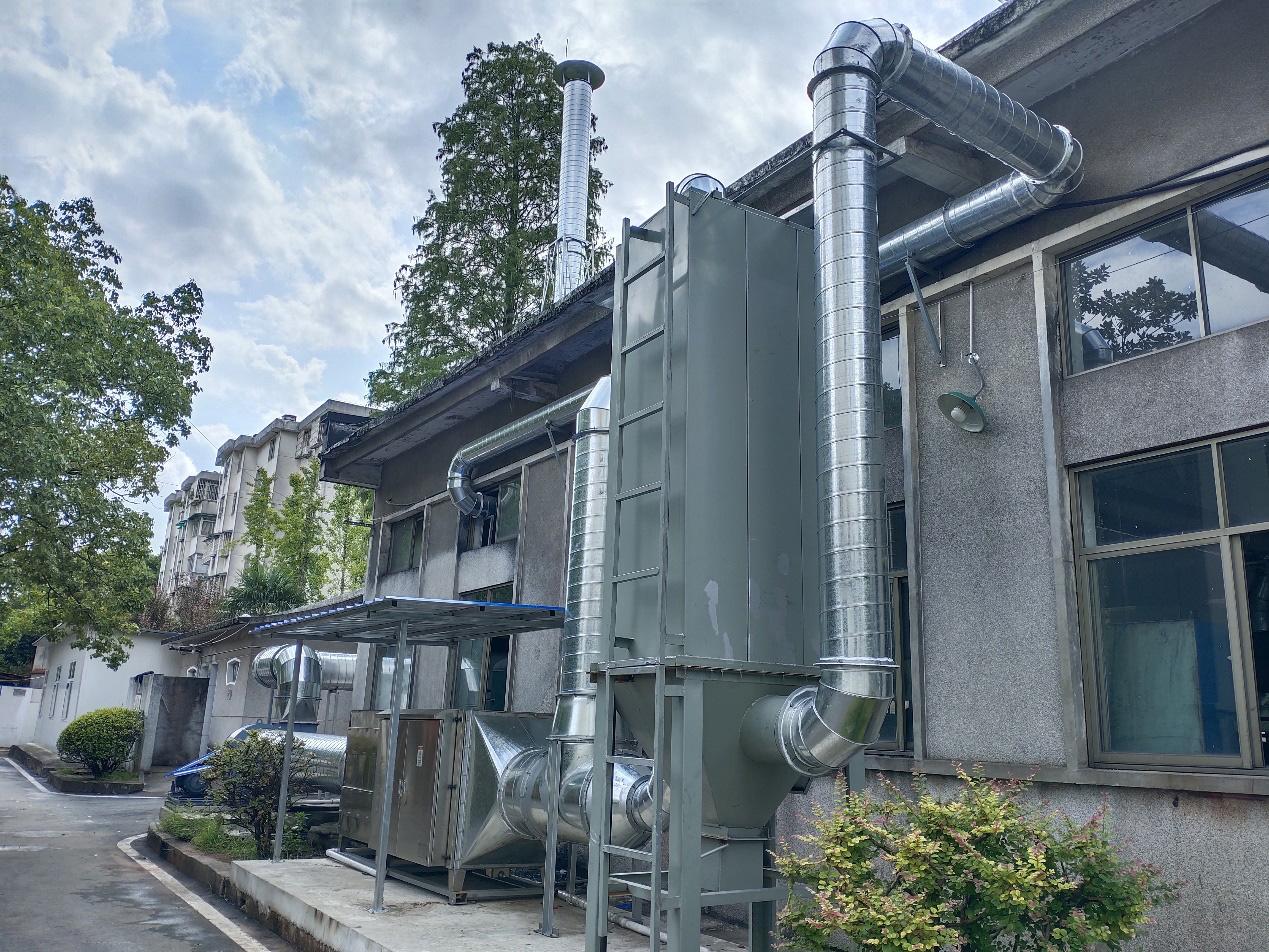 中国化工株洲橡胶研究设计院有限公司特橡炼胶车间废气处理系统
