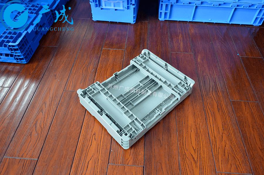 EUO43148折疊箱折疊后特寫