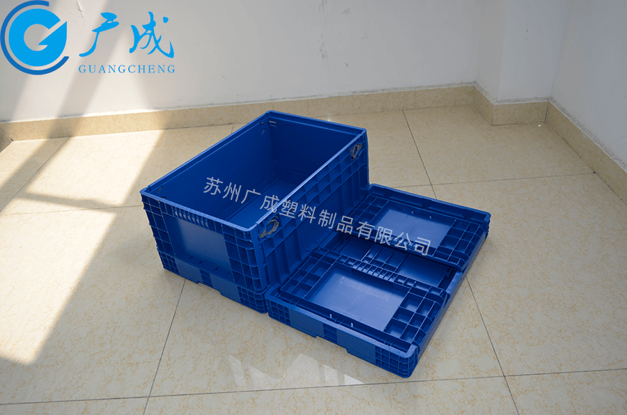 F6280折叠箱展开折叠对比
