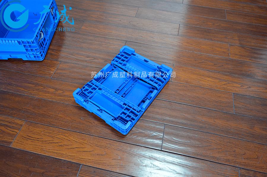 F4147折疊箱折疊特寫