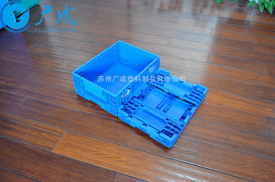 F4147折疊箱折疊展開對比