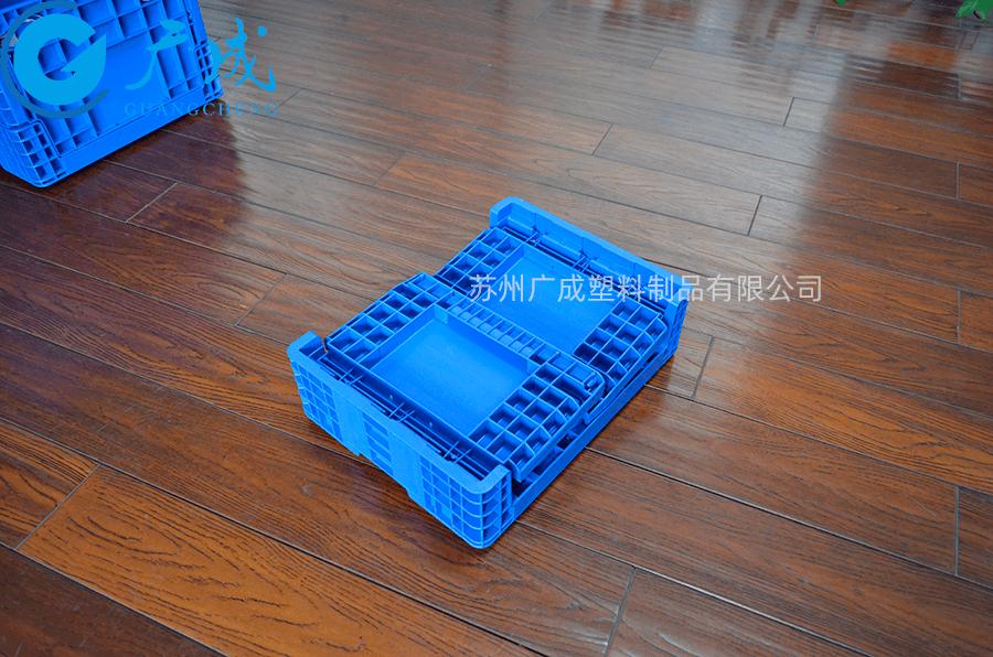 F4280折疊箱折疊特寫