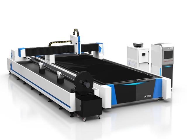 单平台双驱激光切割机