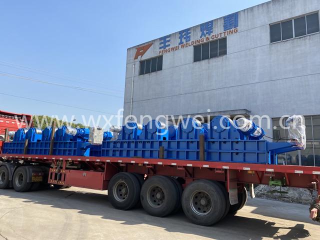 出租滚轮架 HGK-300吨焊接滚轮架 租赁价格