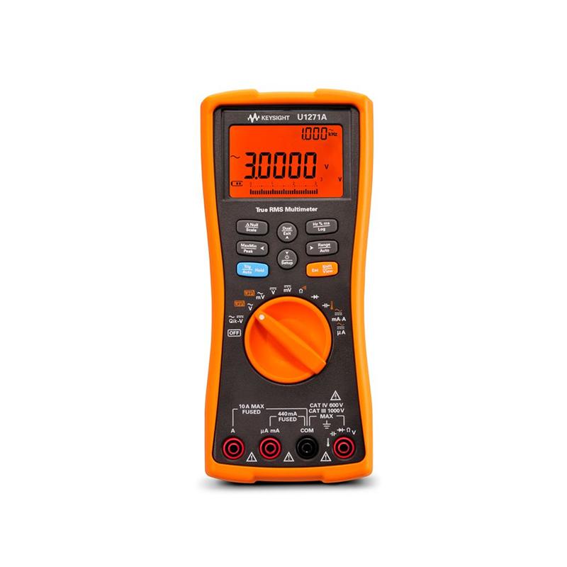 是德科技 U1271A 手持式数字万用表,4 ½ 位,IP54