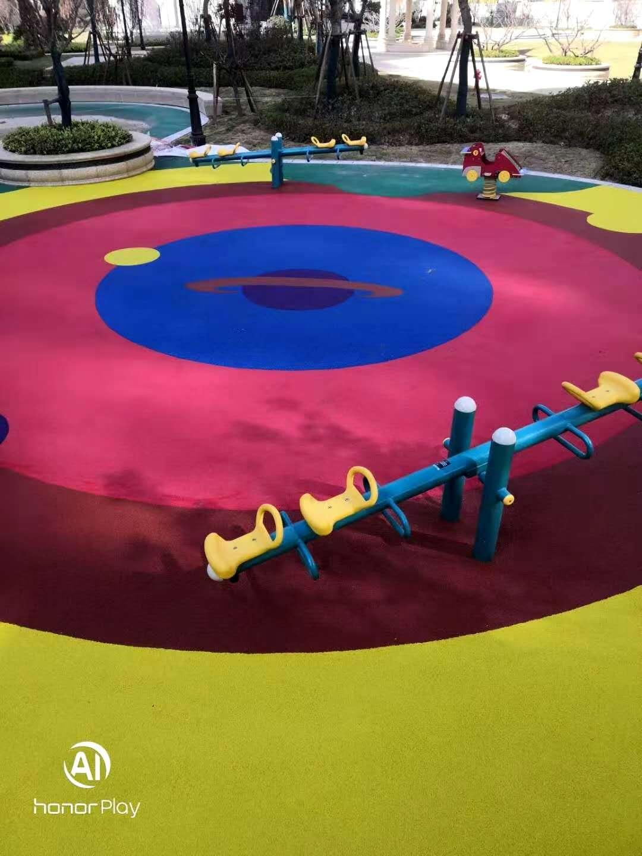 彩色EPDM塑胶地坪系列