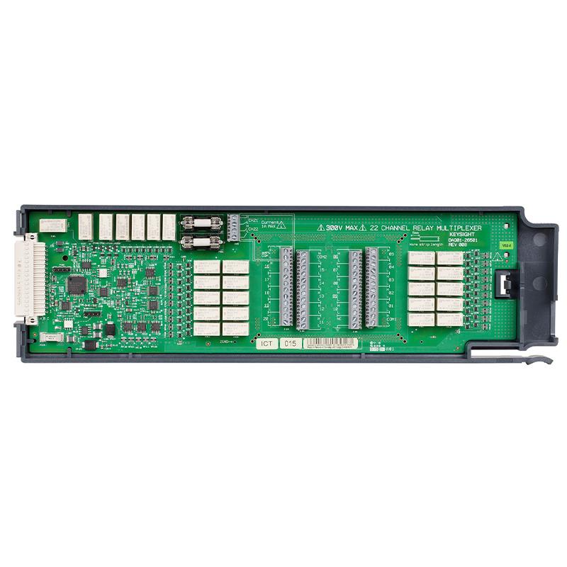 是德科技 DAQM901A 适用于 DAQ970A 的 20 通道多路复用器(2/4 线)模块