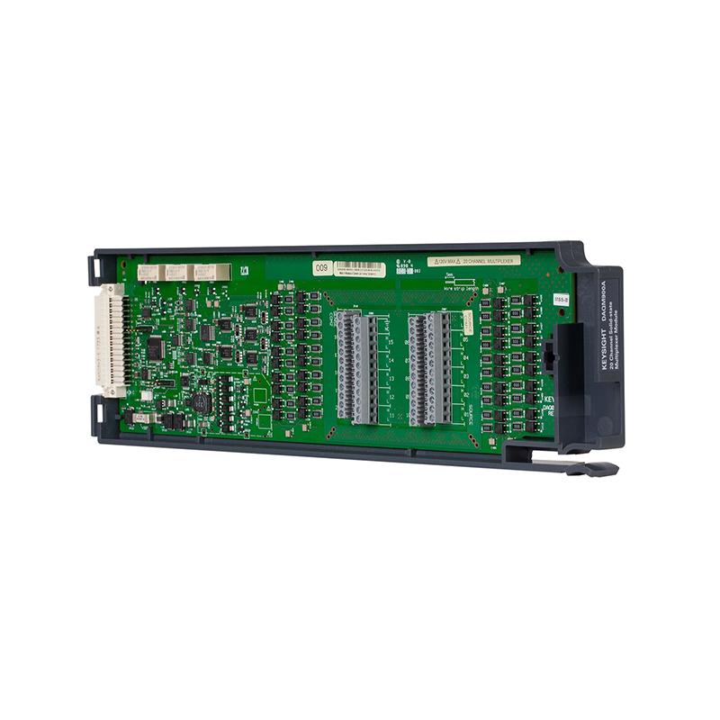 是德科技 DAQM900A 适用于 DAQ970A 的 20 通道固态多路复用器模块