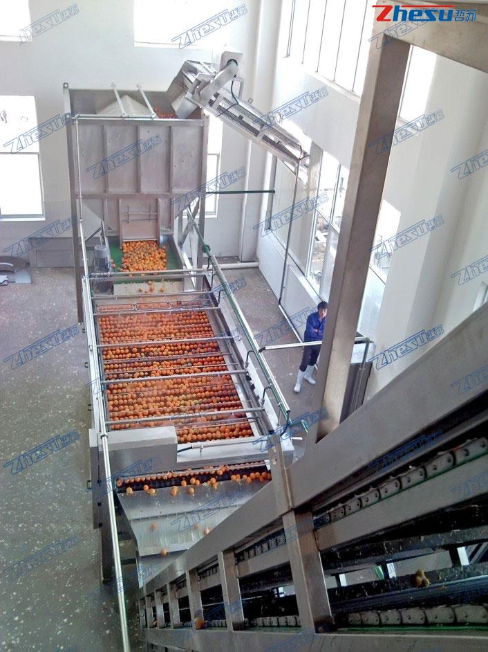 橙、柠檬、鲜柚加工系统工程.04