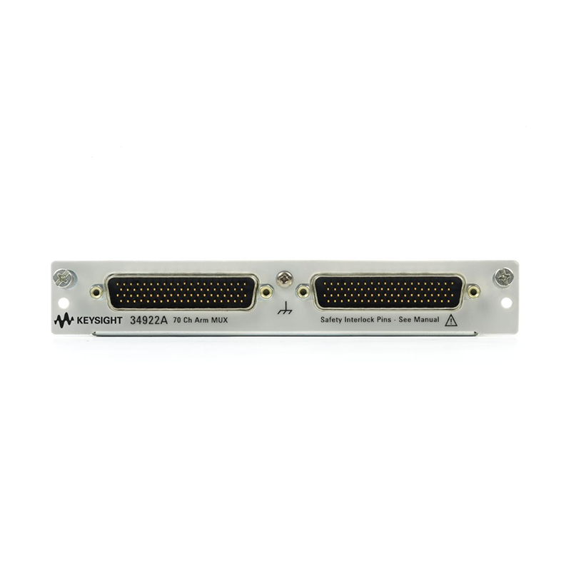 34922A 用于 34980A 的 70 通道衔铁式多路复用器