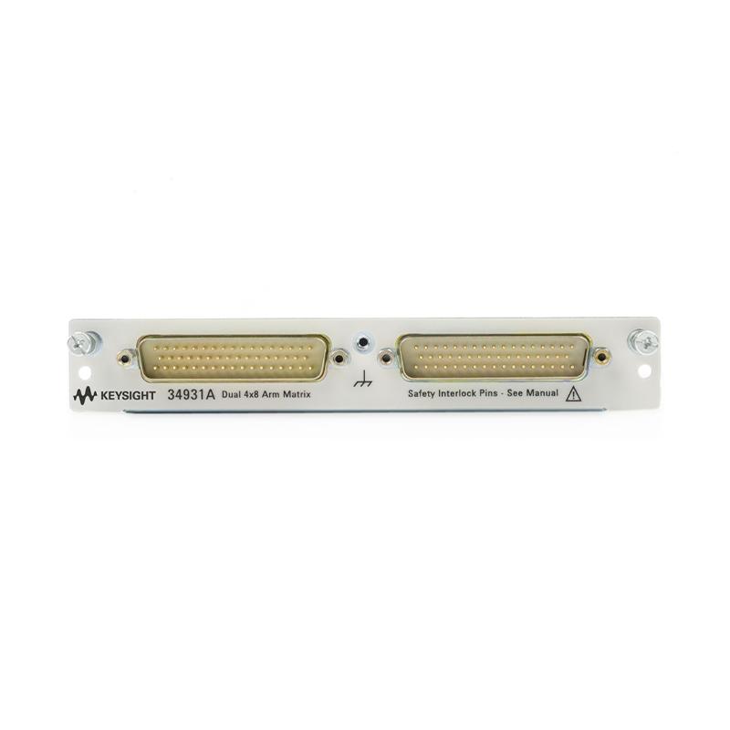 34931A 适用于 34980A 的双 4x8 电枢矩阵