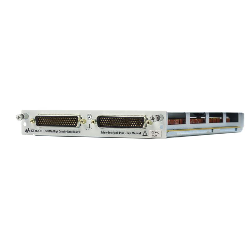 34934A 适用于 34980A 的四 4x32 舌簧式矩阵