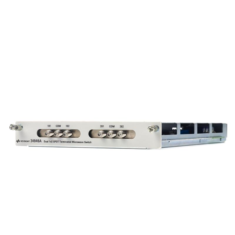 34946A 双 1x2 SPDT 端接微波开关模块,适用于 34980A