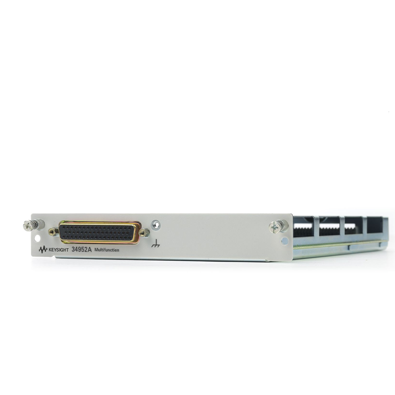 34952A 带有32位DIO、双通道D/A和总计数器的34980A多功能模块