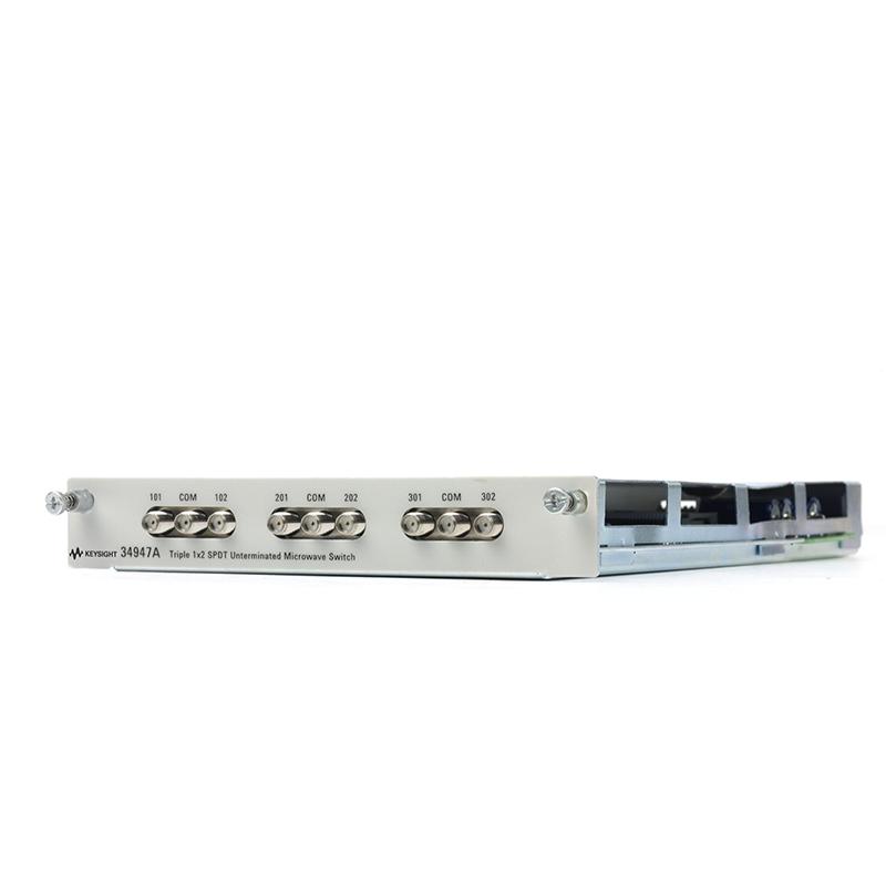 34947A 3 个 1x2 SPDT 非端接微波开关模块,用于 34980A