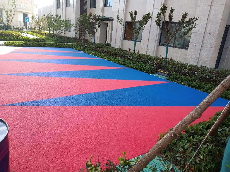 彩色EPDM塑胶地坪