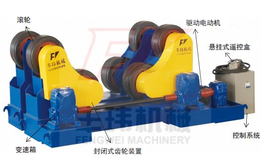 HGZ 自调式焊接滚轮架