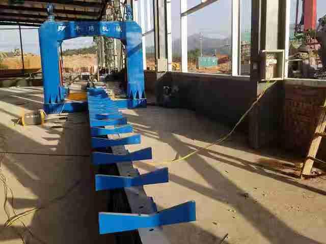 电力杆塔自动合缝焊机