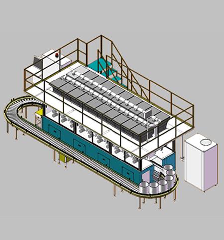 密炼机自动称重配料系统
