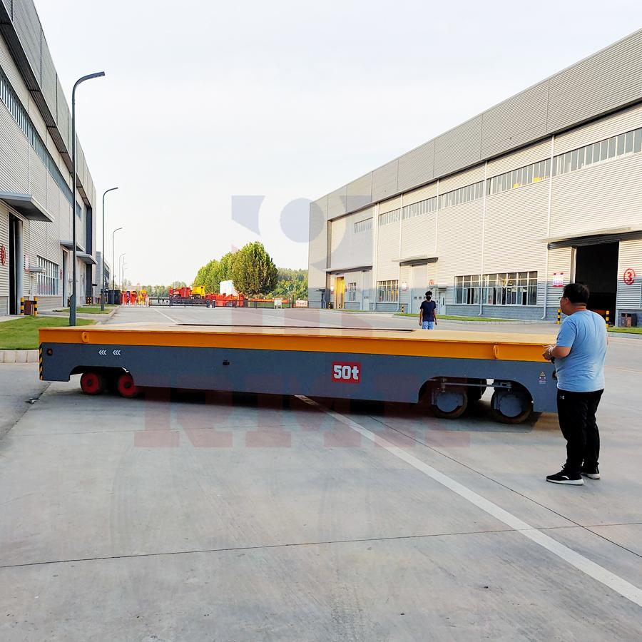 內蒙重載50噸無軌平板車