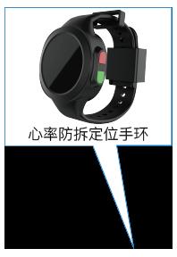 防拆心率定位手环