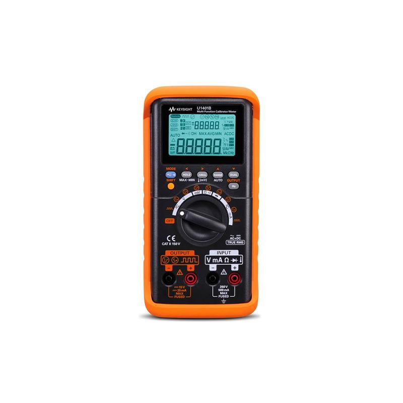 是德科技 U1401B 手持式多功能校准器/万用表