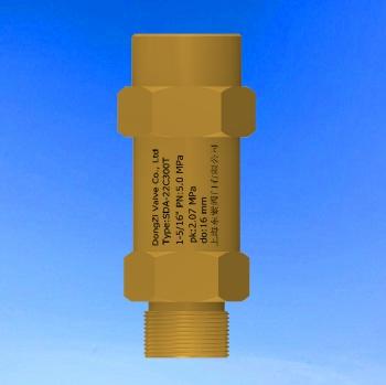 SDA--22C300T安全阀1-5/16寸,压力 2.07 MPa