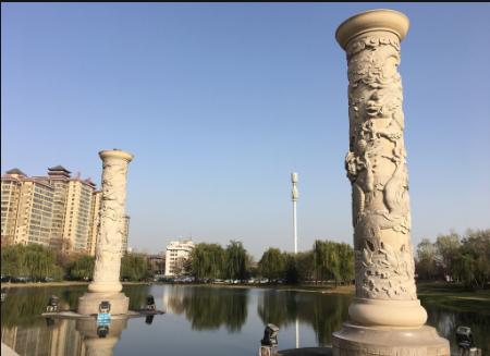 石雕·龙柱