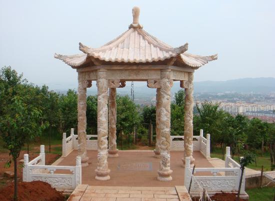 石雕·凉亭