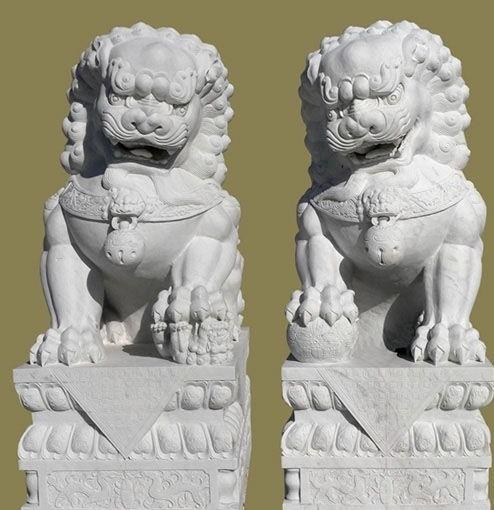 石雕·石狮子