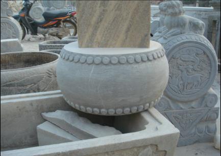 石雕·石墩