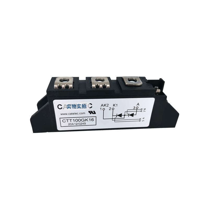 供应全新西班牙CATELEC可控硅模块 CTT100GK16 二极管模块 欢迎订购