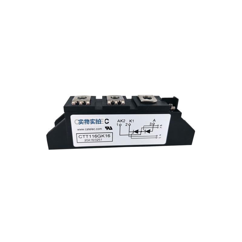 供应全新西班牙CATELEC可控硅模块 CTT116GK16 二极管模块 欢迎订购