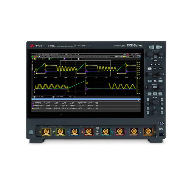 是德科技 EXR058A Infiniium EXR-Series Oscilloscope